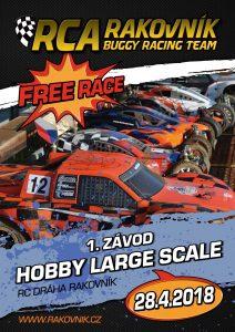 RCA Rakovník Hobby free race 2018
